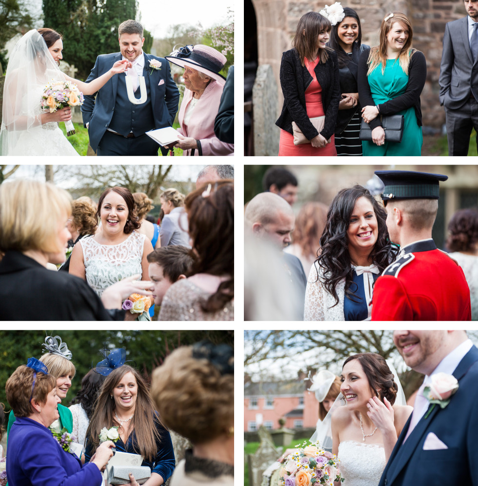 Rebecca & Owen wedding Caer Llan duo 10
