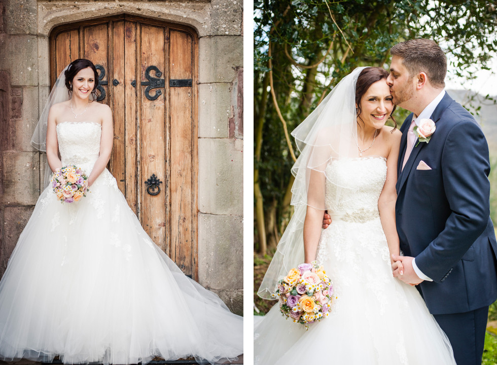 Rebecca & Owen wedding Caer Llan duo 12