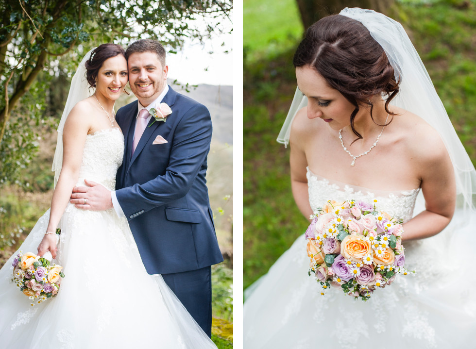 Rebecca & Owen wedding Caer Llan duo 13