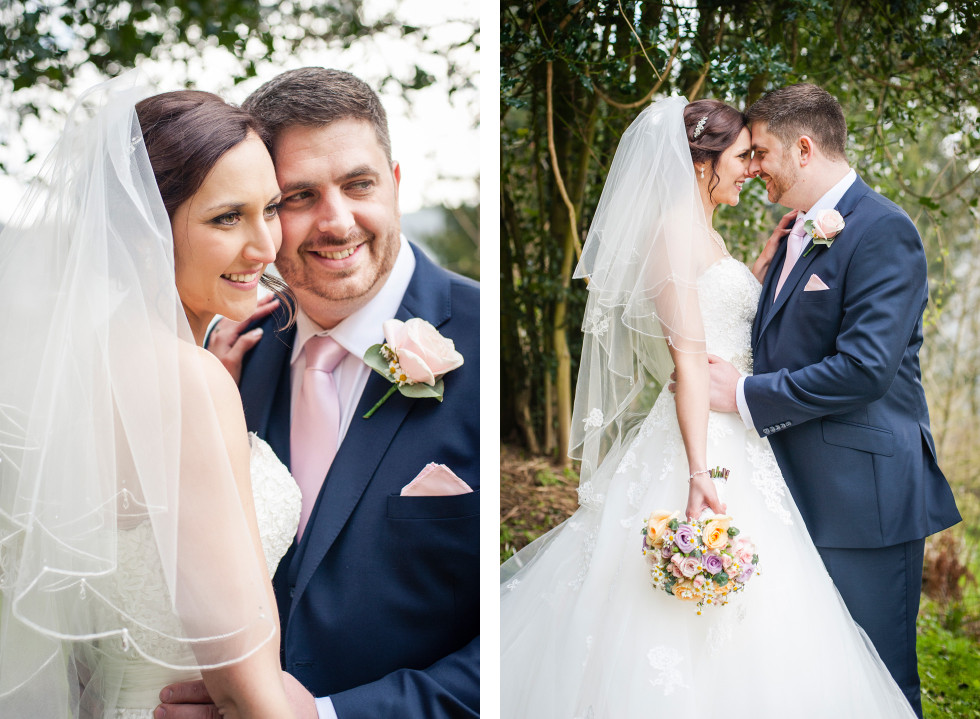 Rebecca & Owen wedding Caer Llan duo 14