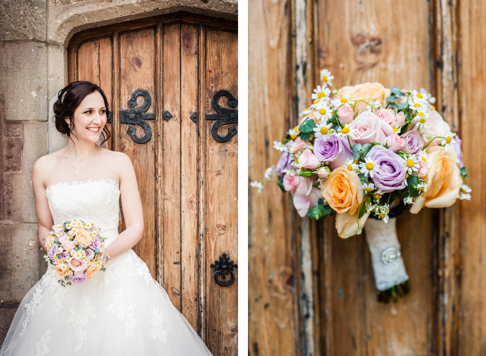 Rebecca & Owen wedding Caer Llan duo 27