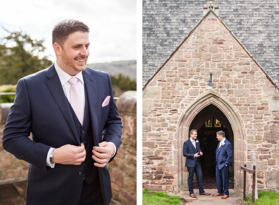 Rebecca & Owen wedding Caer Llan duo 8