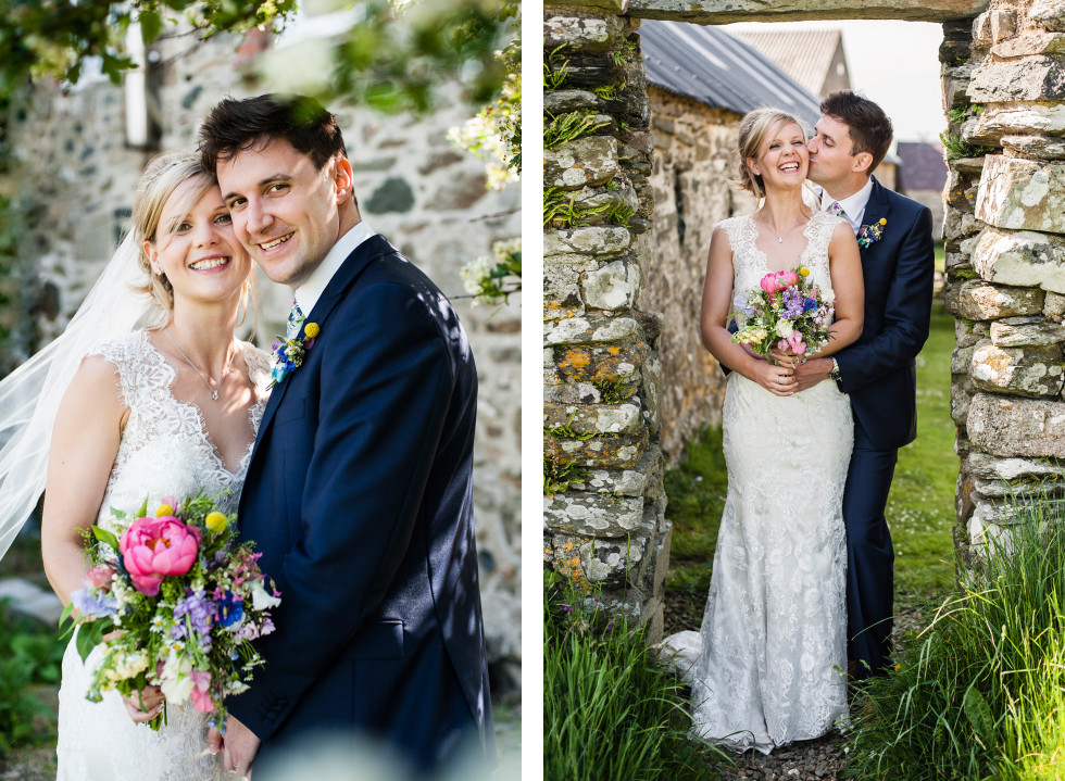 Kirsty & Adrian celtic camping tipi wedding duo 21