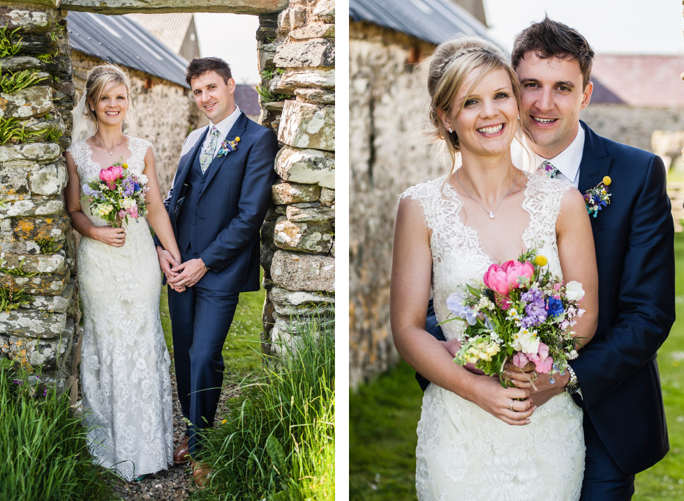 Kirsty & Adrian celtic camping tipi wedding duo 22