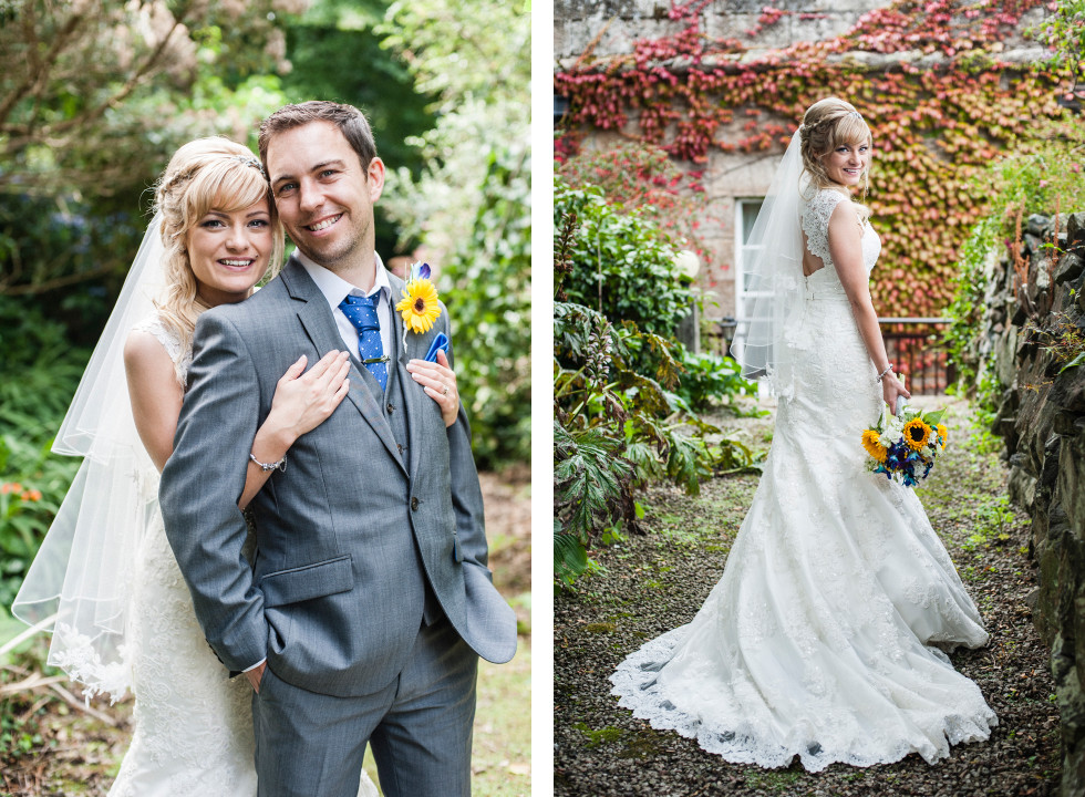Nicola & Elliot Tregenna Castle St Ives wedding duo 11