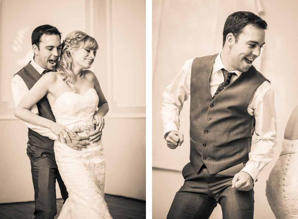 Nicola & Elliot Tregenna Castle St Ives wedding duo 18