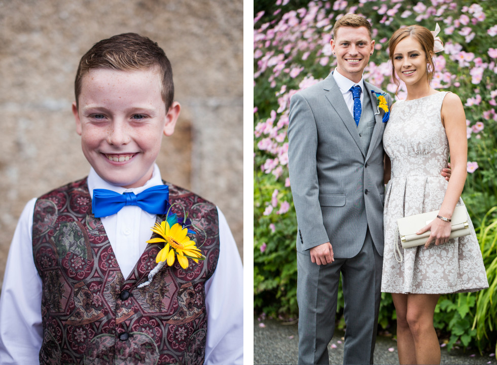 Nicola & Elliot Tregenna Castle St Ives wedding duo 6