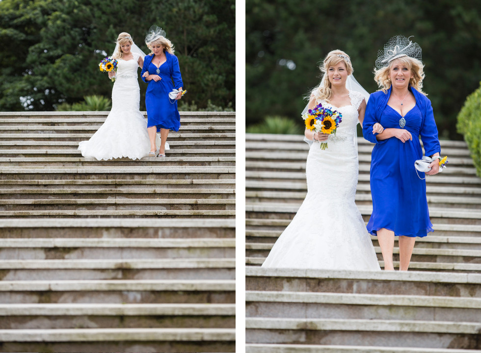 Nicola & Elliot Tregenna Castle St Ives wedding duo 7