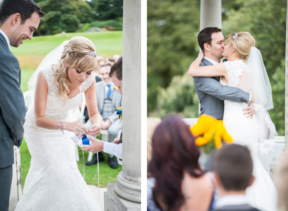 Nicola & Elliot Tregenna Castle St Ives wedding duo 8