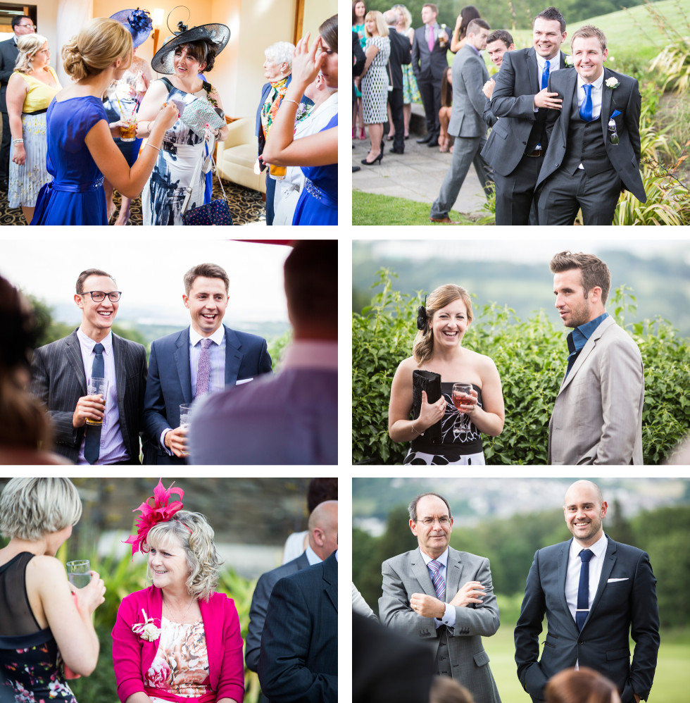 Sarah & Matt wedding Bryn Meadows collage 4