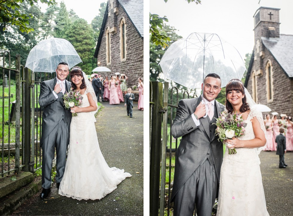 Becky & Jay wedding Old Rectory Crickhowell duo 10