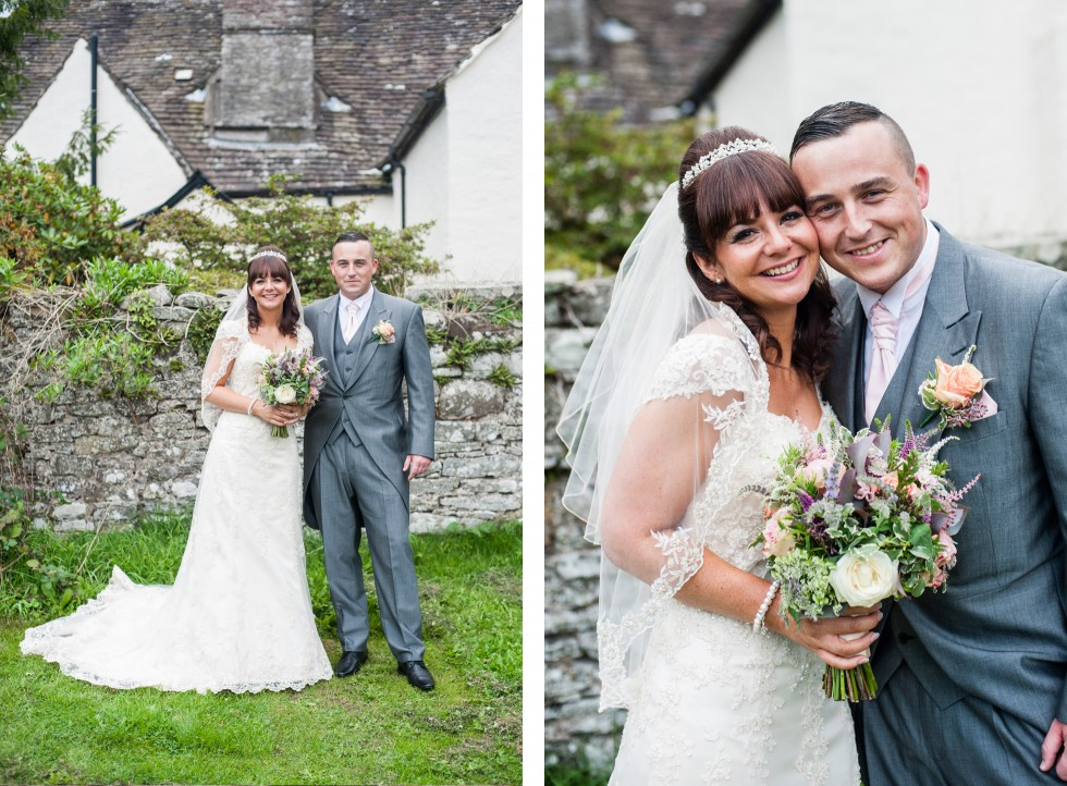 Becky & Jay wedding Old Rectory Crickhowell duo 11