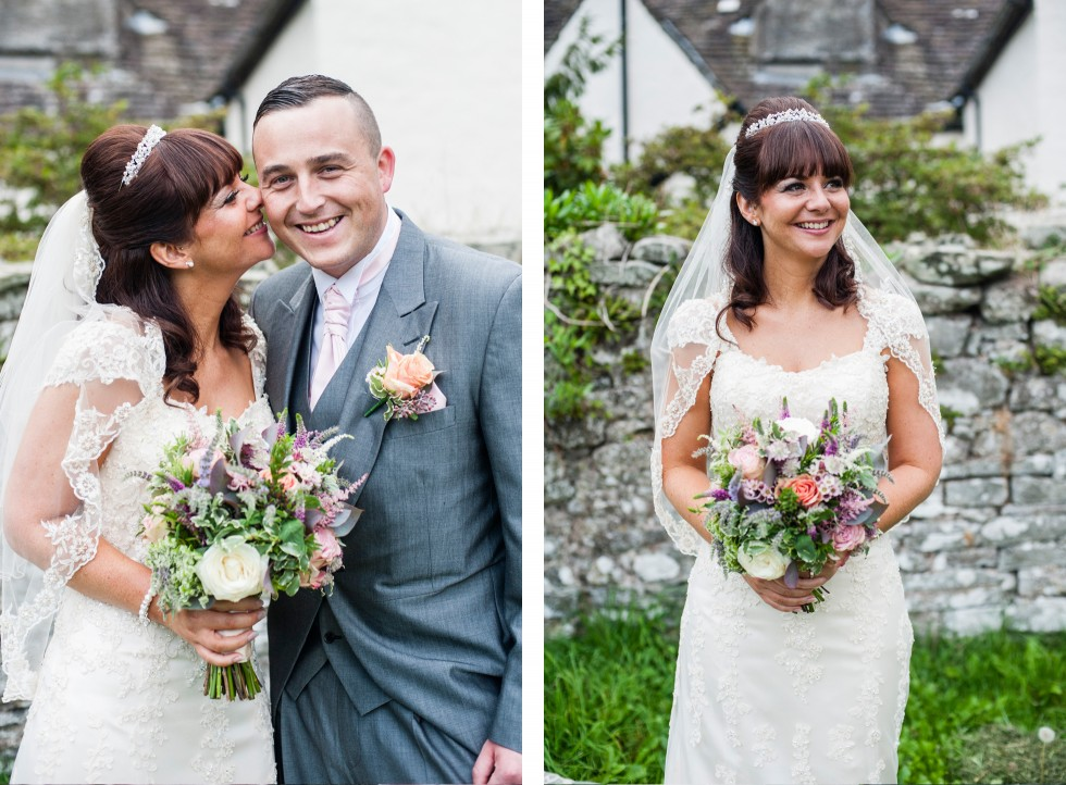 Becky & Jay wedding Old Rectory Crickhowell duo 12