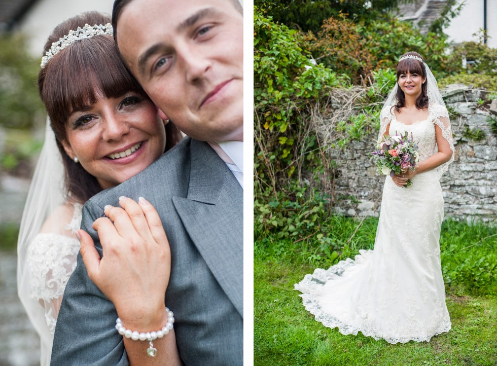 Becky & Jay wedding Old Rectory Crickhowell duo 13
