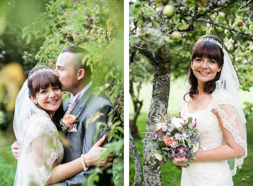 Becky & Jay wedding Old Rectory Crickhowell duo 14