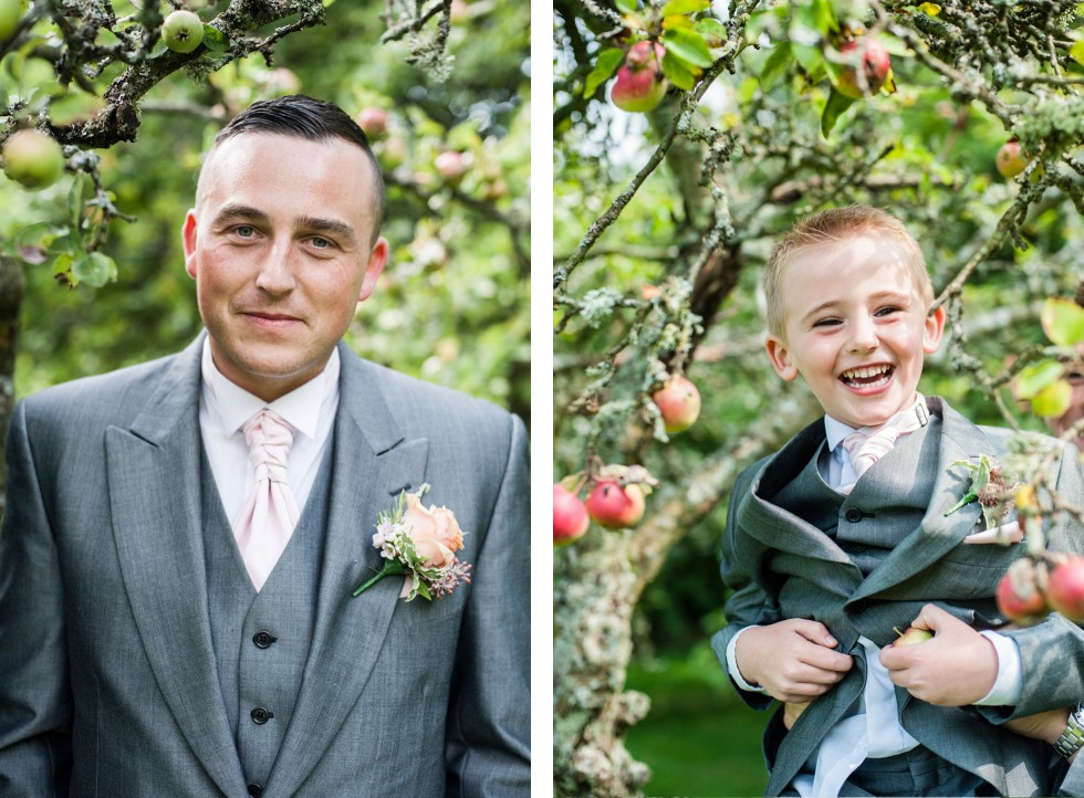 Becky & Jay wedding Old Rectory Crickhowell duo 15