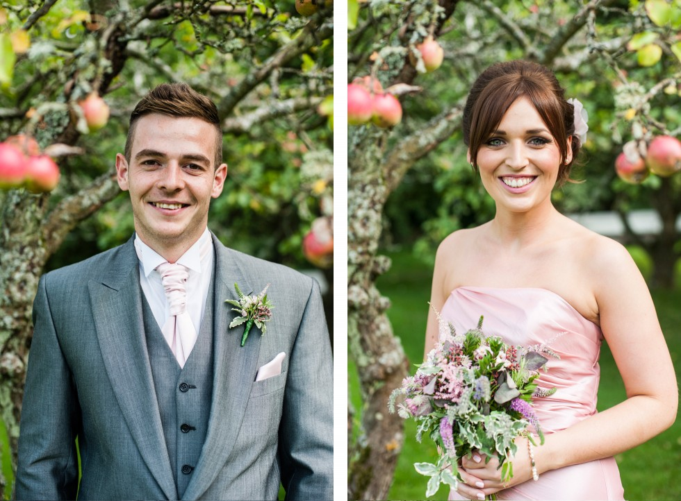 Becky & Jay wedding Old Rectory Crickhowell duo 16