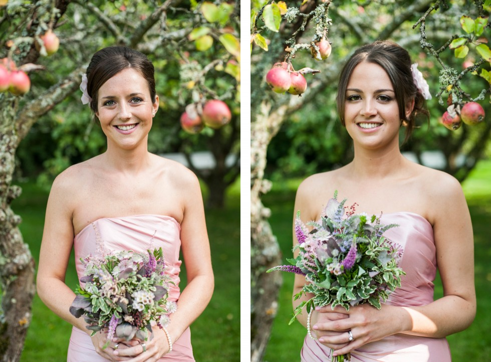 Becky & Jay wedding Old Rectory Crickhowell duo 17