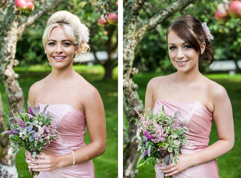 Becky & Jay wedding Old Rectory Crickhowell duo 18