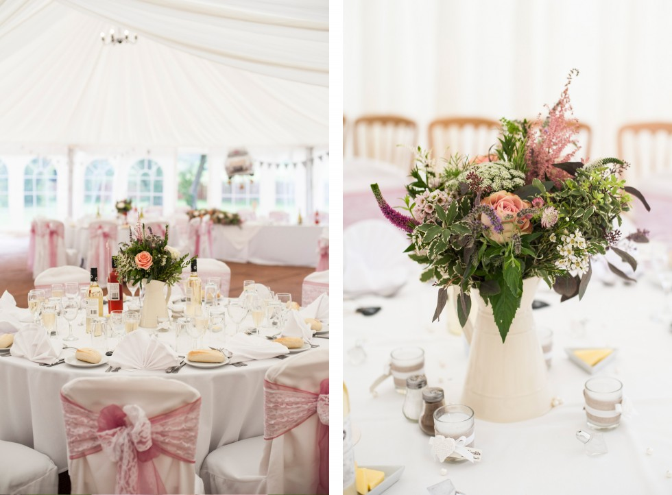 Becky & Jay wedding Old Rectory Crickhowell duo 19