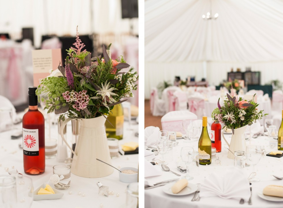 Becky & Jay wedding Old Rectory Crickhowell duo 20