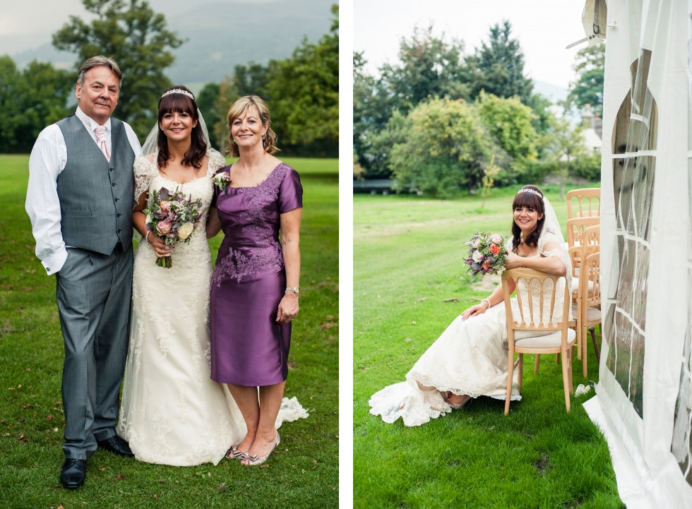 Becky & Jay wedding Old Rectory Crickhowell duo 24