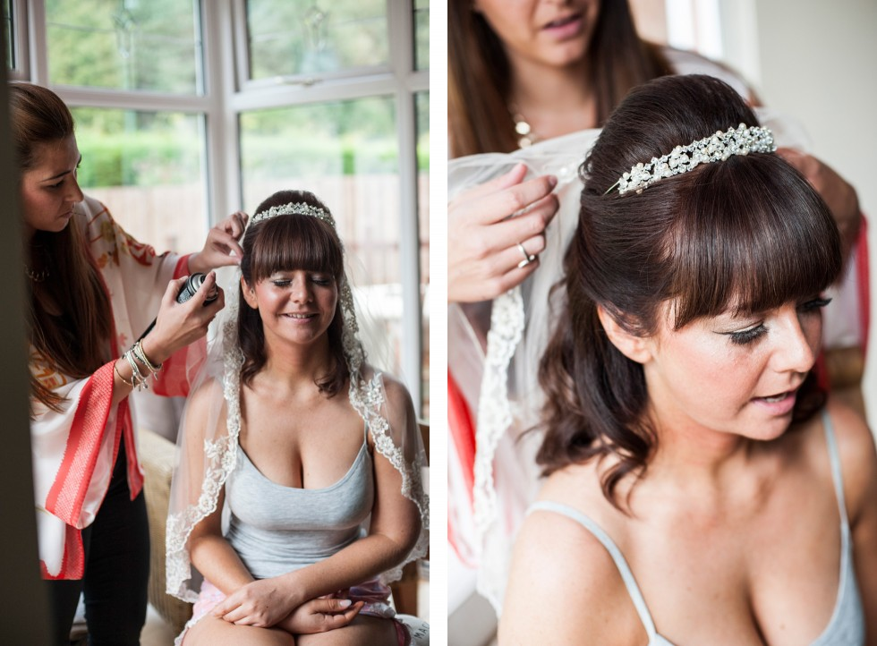 Becky & Jay wedding Old Rectory Crickhowell duo 3