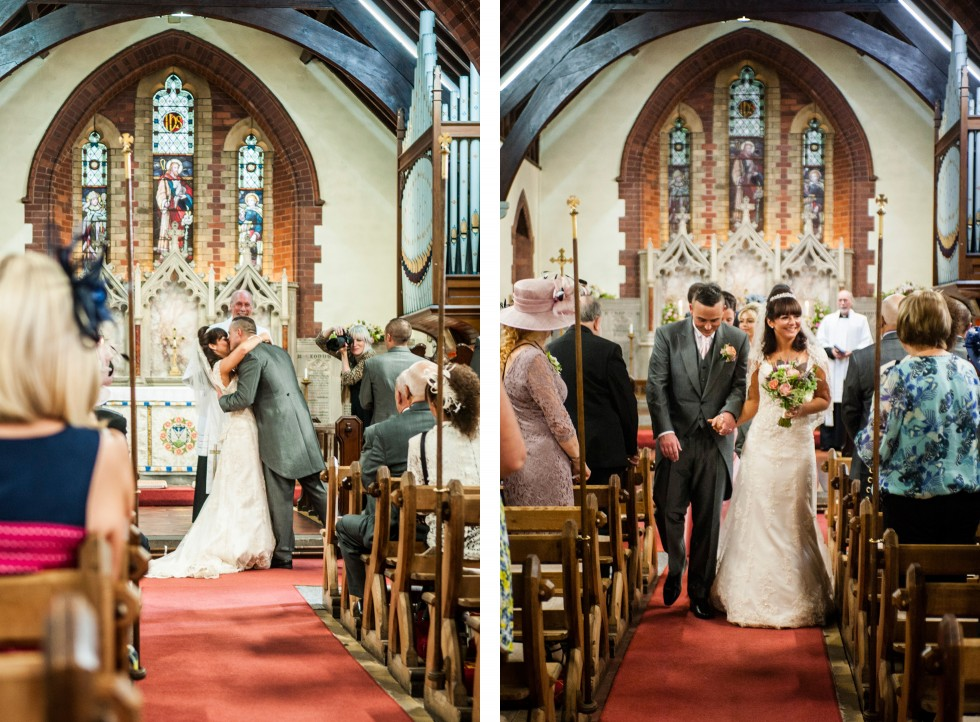 Becky & Jay wedding Old Rectory Crickhowell duo 8