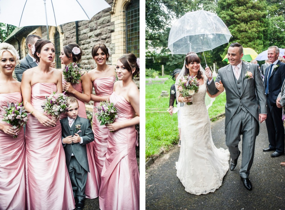 Becky & Jay wedding Old Rectory Crickhowell duo 9