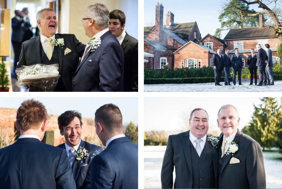 Lynda & Paul wedding Goldstone Hall duo 5