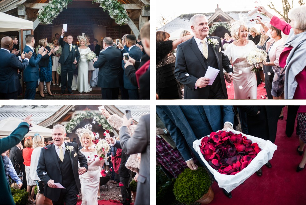 Lynda & Paul wedding Goldstone Hall duo 6