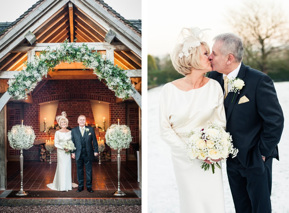 Lynda & Paul wedding Goldstone Hall duo 7