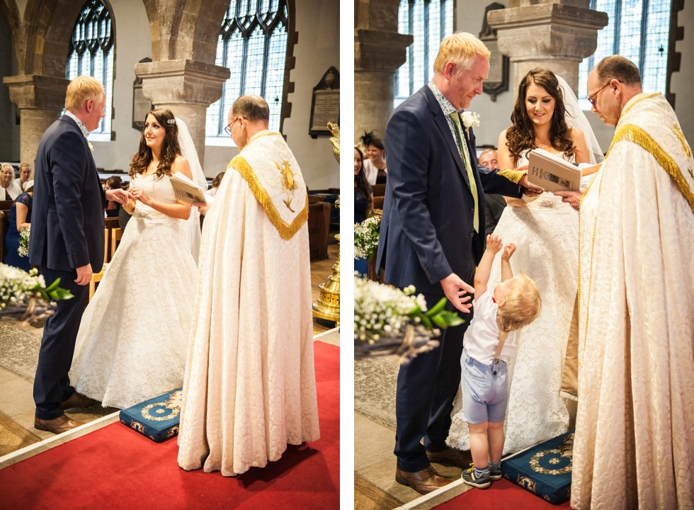 Tracey & Neil wedding St Woolos Cathedral Newport duo 4