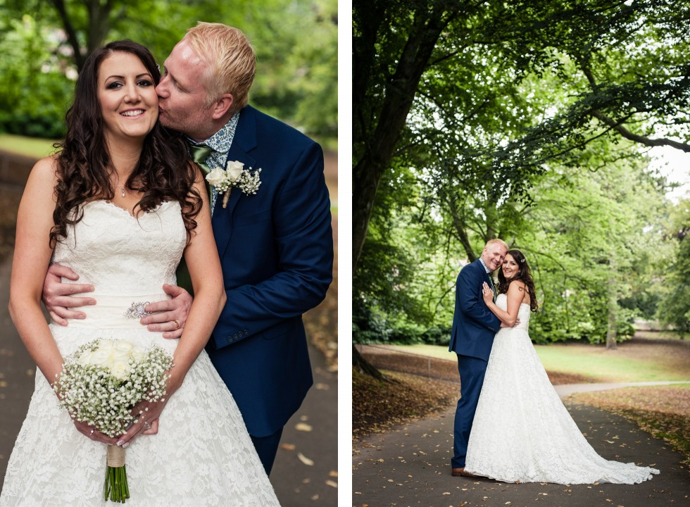 Tracey & Neil wedding St Woolos Cathedral Newport duo 7