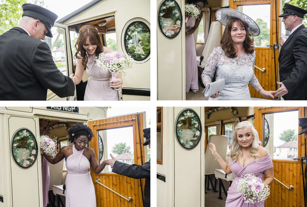 Vicky & Rob Coed Y Mwstwr wedding photography group 2