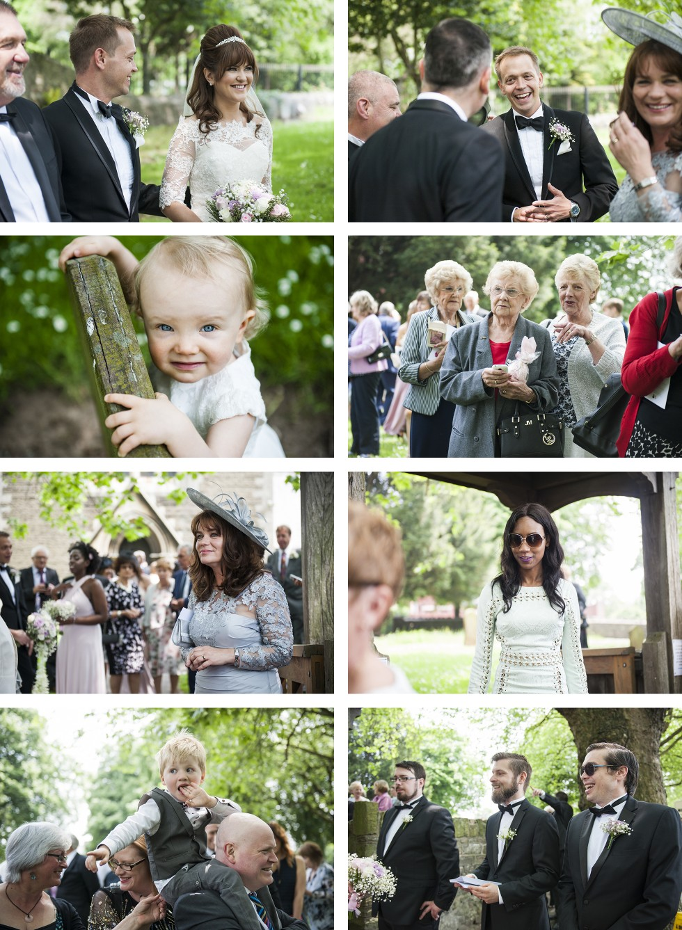 Vicky & Rob Coed Y Mwstwr wedding photography group 5