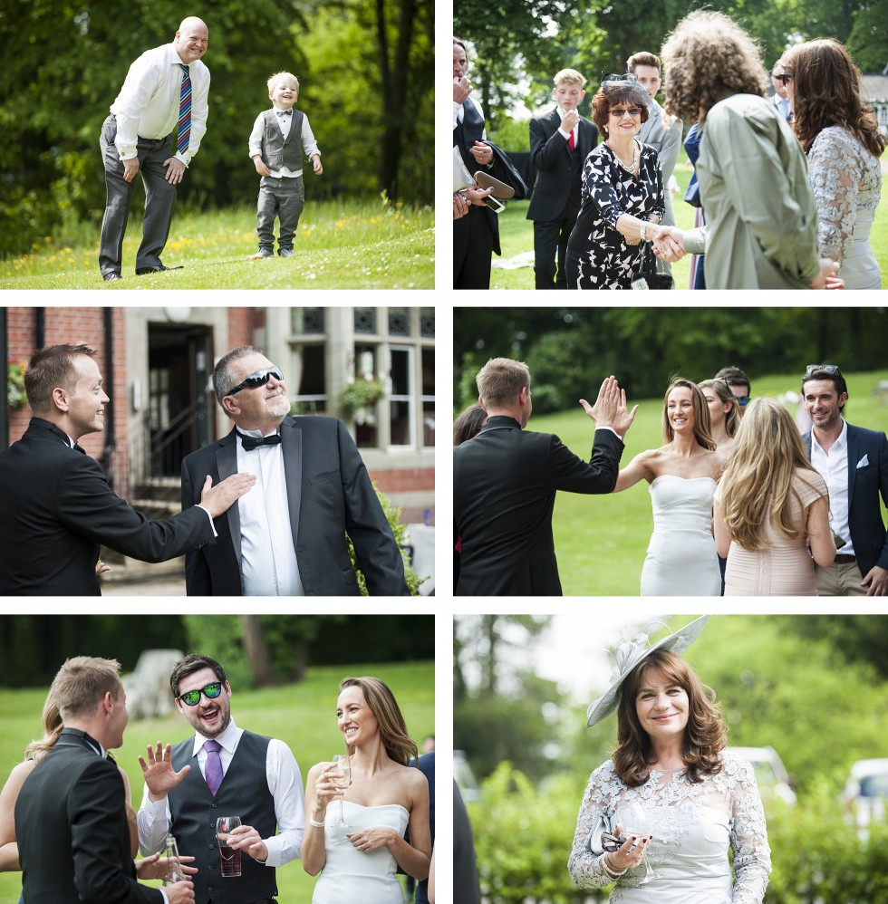 Vicky & Rob Coed Y Mwstwr wedding photography group 7